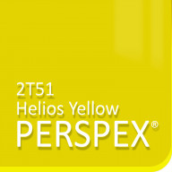 Yellow Fluorescent Perspex 2T51