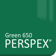 Green Gloss Perspex 650