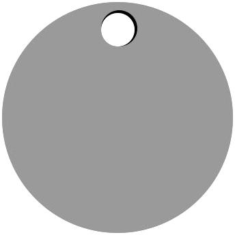 Top Circle Hole