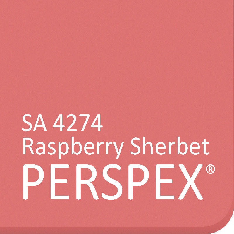 Raspberry Sherbet SA 4274 Perspex Frost