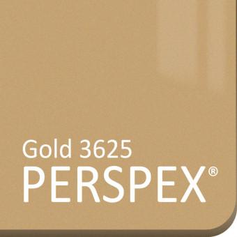 Gold Perspex Metallic 3625