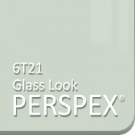 Clear Glass Look Green Tint 6T21