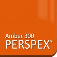 Amber 300 Perspex