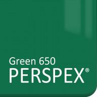 Green 650 Perspex