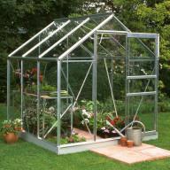 Greenhouse perspex sheet