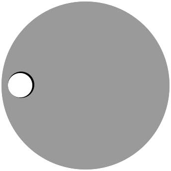 Left Circle Hole