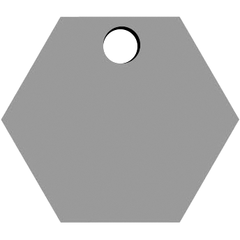 Top Hexagon Hole