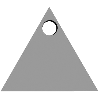 Top Triangle Hole